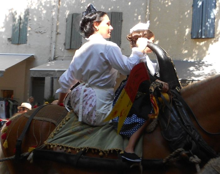 Alpilles fêtes du 15 août à Saint Rémy de Provence