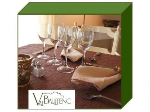 Val Baussenc coffret cadeau, box cadeau week end hôtel + restaurant en Provence, dans un hôtel Relais du Silence. Restaurant provençal