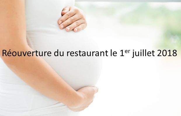 Réouverture du restaurant Val Baussenc le 1et juillet 2018 suite à la maternité de son chef Cécile. Retour avec de nouvelles recettes !