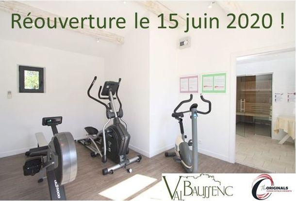 L'hôtel restaurant Val Baussenc The Originals rouvrira le 15 juin après la parenthèse de la Covid-19. Réservez votre séjour en Provence, pour une forme sans faille !